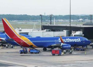 Southwest flight arrives at the Baltimore terminal. (Image: Wikimedia)