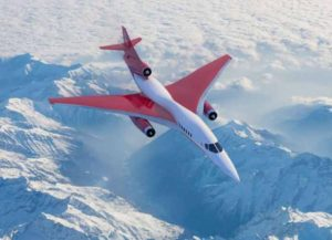 Aerion's New Supersonic Jet Will Fly From NYC To London In Less Than An Hour – With No Booms! (Image: Aerion)