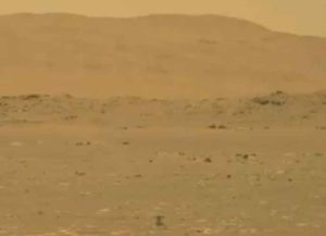 NASA Mars Helicopter Makes First Flight On Another Planet (Image: Twitter)