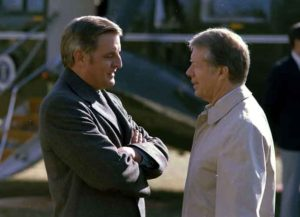 Mondale and Carter in 1977 (Image: Wikimedia)