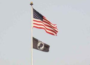 POW flag flies at military base in Minnesota (Image: Wikimedia)