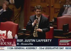 Tennessee state Rep. Justin Lafferty (R) (Image: YouTube)