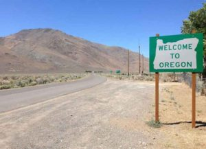 Oregon state border (Image: Wikimedia)