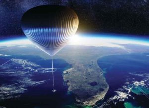Rendering of Space Perspective's Space Balloon (Image: Space Perspective)