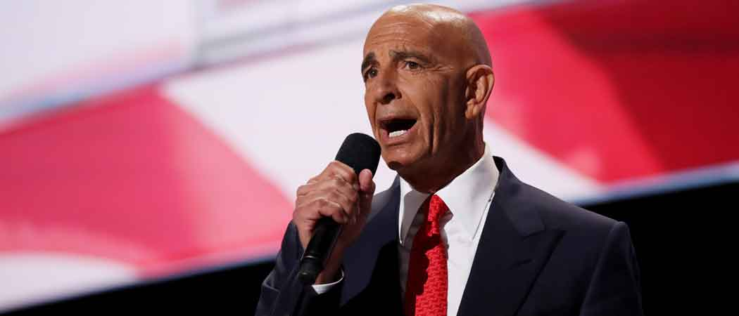 Tom Barrack, Top Trump Adviser, Arrested For Acting As A Foreign Agent For UAE