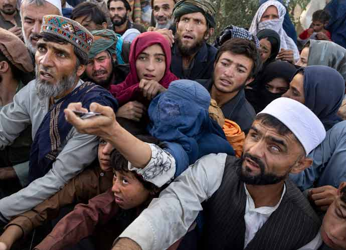 Footage Of Afghans Falling Off U.S. Air Force Plane Goes Viral
