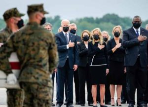 Biden Pays Respects To 13 Fallen U.S. Service Members Killed At Kabul Airport (Image: White House)