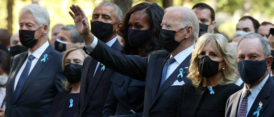 Biden Visits Three Sites Where 9/11 Attacks Took Place On 20th Anniversary
