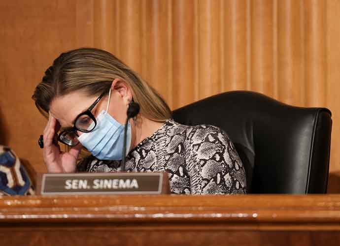 Sen. Kyrsten Sinema Has Raised $1.1 Million In Donations – Mostly From Corporate Executives